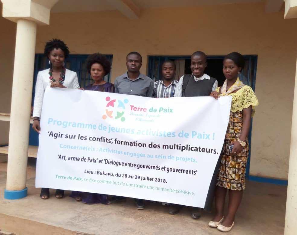 Les jeunes du Sud-Kivu multiplicateurs des idéaux de paix et de non violence