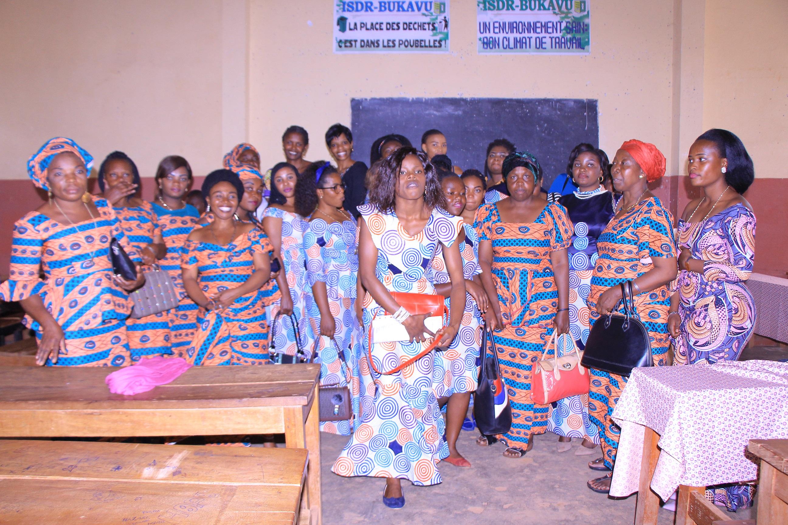 Même regard, même avenir, égalité des chances, quelle probabilité pour les femmes de l'ISDR-Bukavu ?