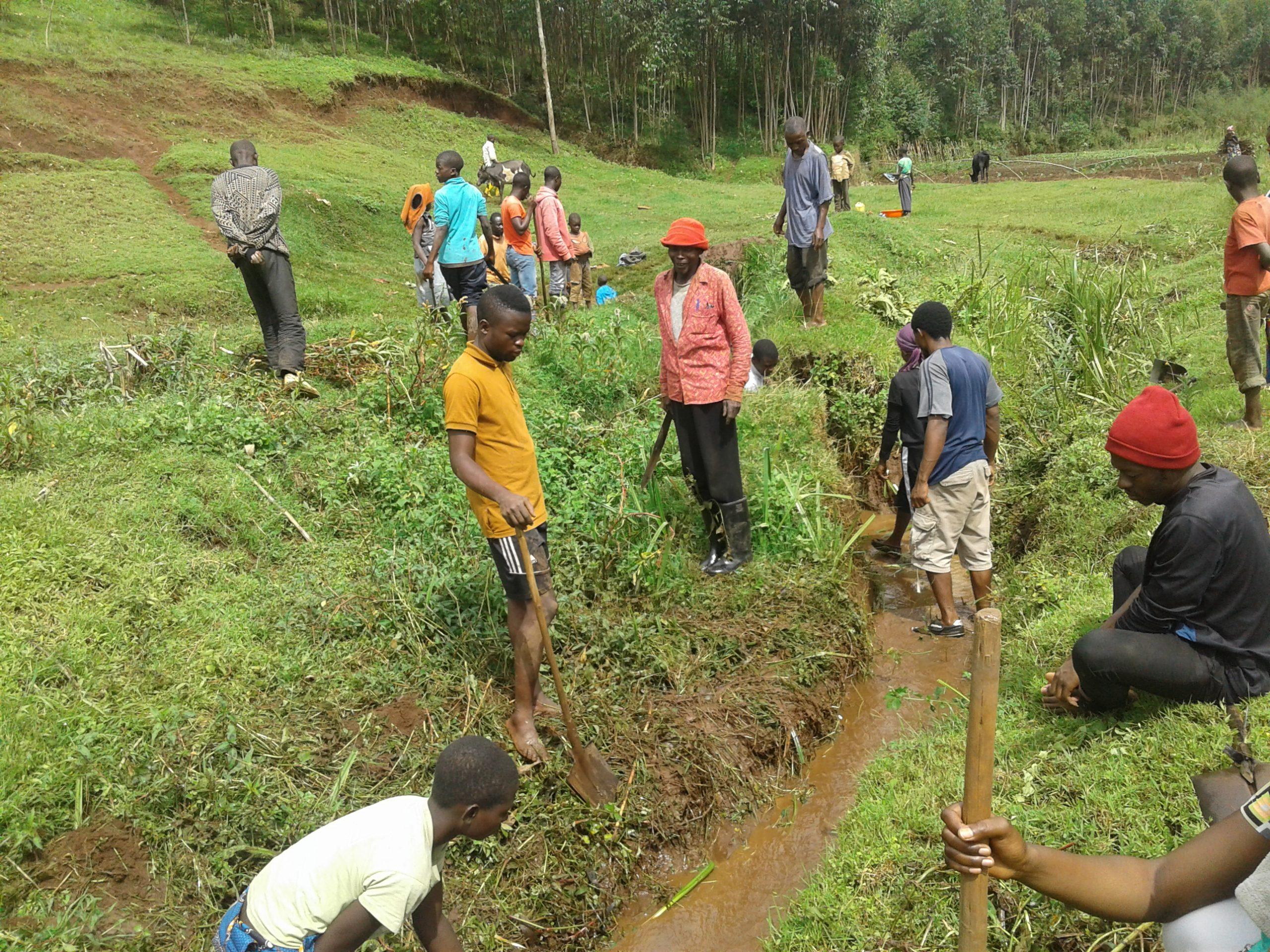 Les sorties professionnelles, une initiation des étudiant(e)s à l'identification et à la gestion des problèmes en milieux ruraux