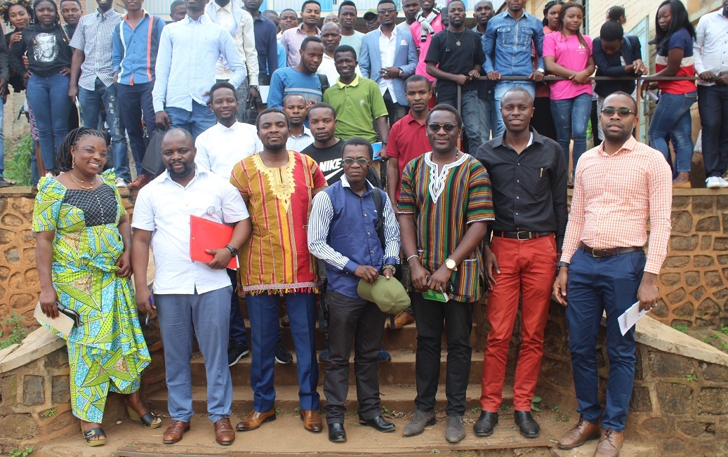 Retour à l'ALMA MATER, trois anciens étudiants de l'ISDR-Bukavu présentent leurs recherches de master en conférence