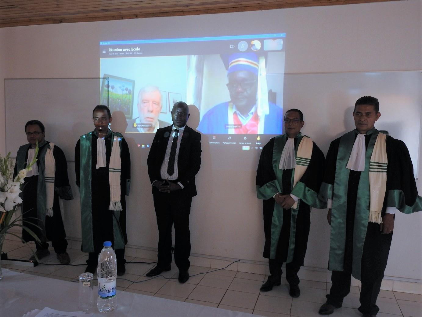 Désiré R. MWEZE, un nouveau Docteur à l'SDR-Bukavu après une soutenance de thèse