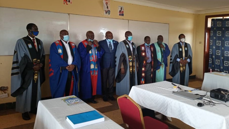 NYATEMU ZENDA ZA BEGANI Arthur-Josué, nouveau Docteur à l'SDR-Bukavu après une soutenance de thèse à Nkumba University