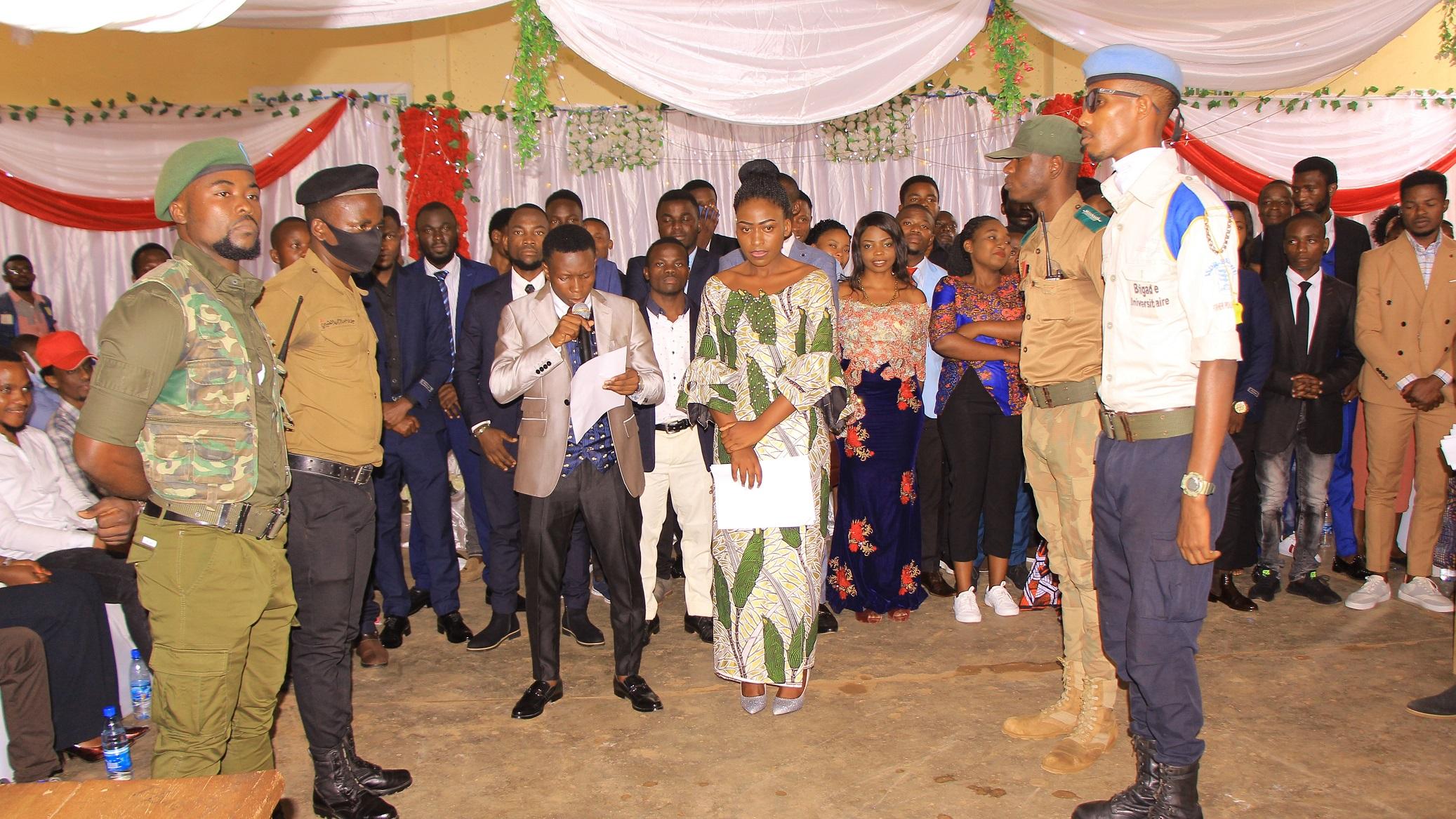 Investiture d'un nouveau collège des étudiants à l'ISDR Bukavu